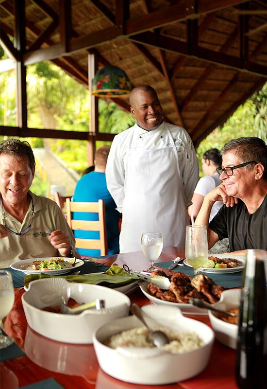 Chef Dixon Aguila de Osa chef