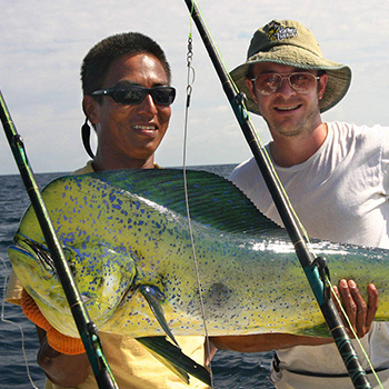 Fishing the Osa Peninsula Costa Rica