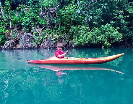Kayaking Aguila de Osa