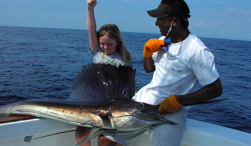 Sailfish Drake Bay Fishing