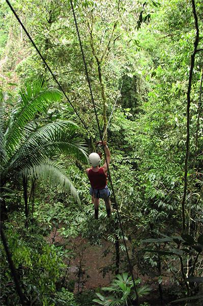 Canopy Zipline tours Costa Rica