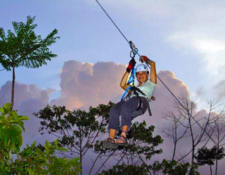 Ziplining Aguila de Osa