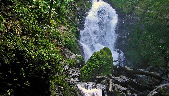 Costa Rica adventure waterfall