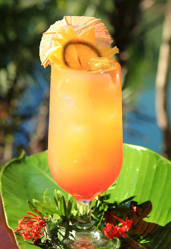 Tropical cocktails Aguila de Osa