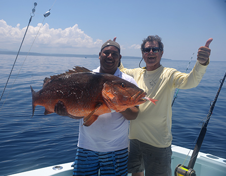 Snapper fishing the Osa Peninsula